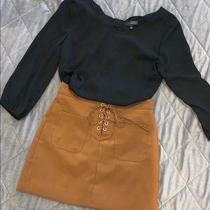 FALL boohoo skirt 🍂🍁